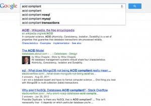 ACID Compliance