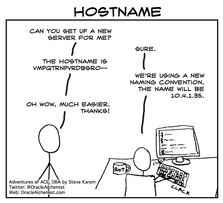 Hostname (Ace Comic)