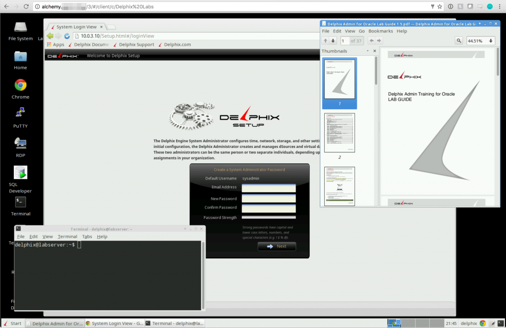Jumpbox Lab Server